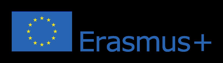 Zdjęcie przedstawia logo programu Erasmus+